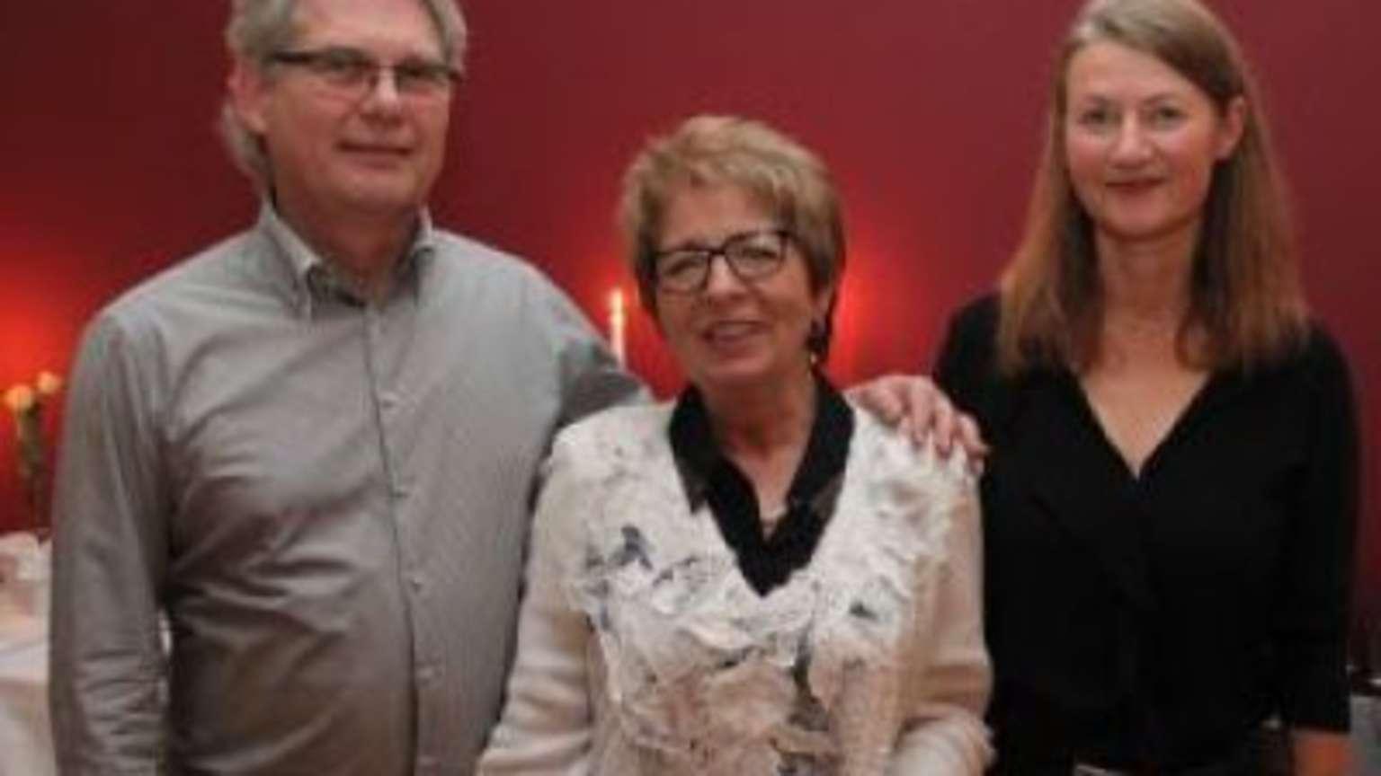 Edith Arnold für Single-Treff geehrt | Hanau