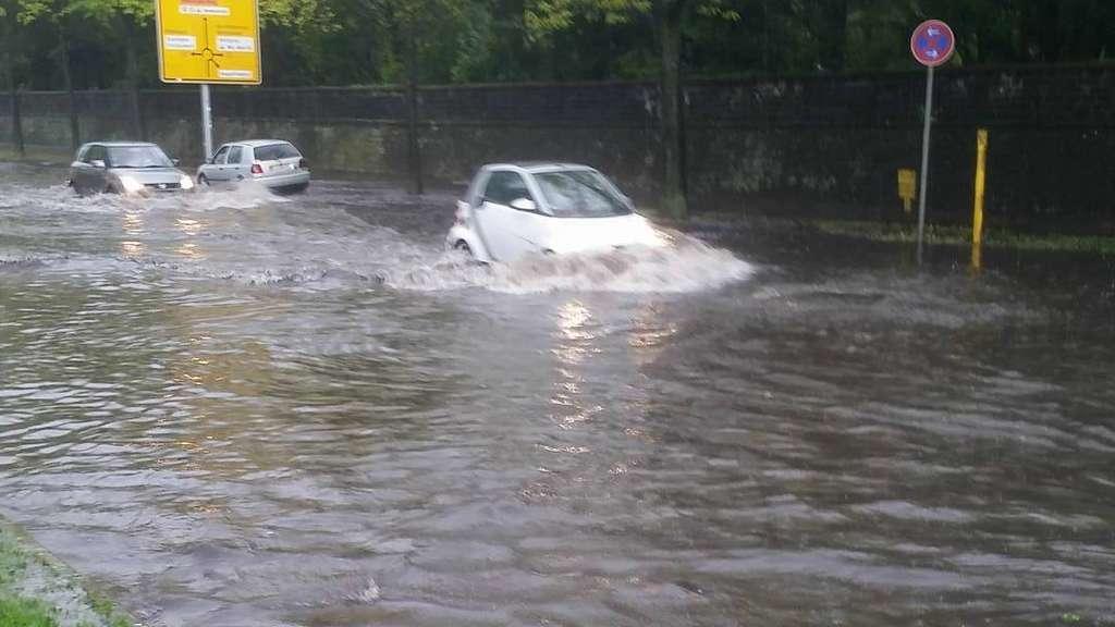 Unwetterwarnung Hanau