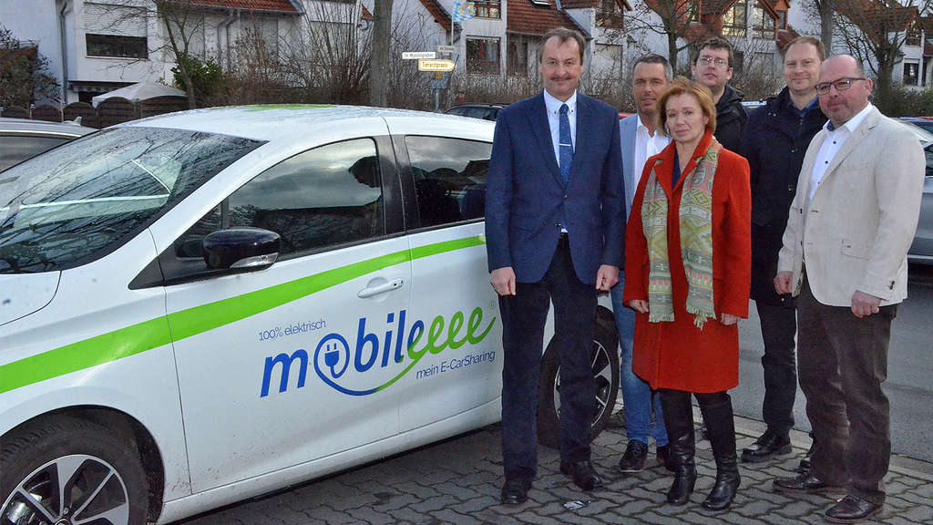 Neues Elektro-Car-Sharing-Konzept in Nidderau