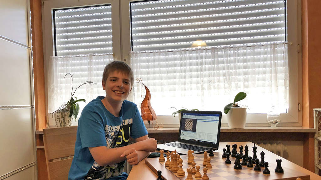 13-jähriges Schach-Ass Richard Bethke international unterwegs