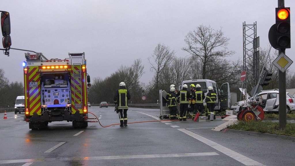Unfall A661 Aktuell