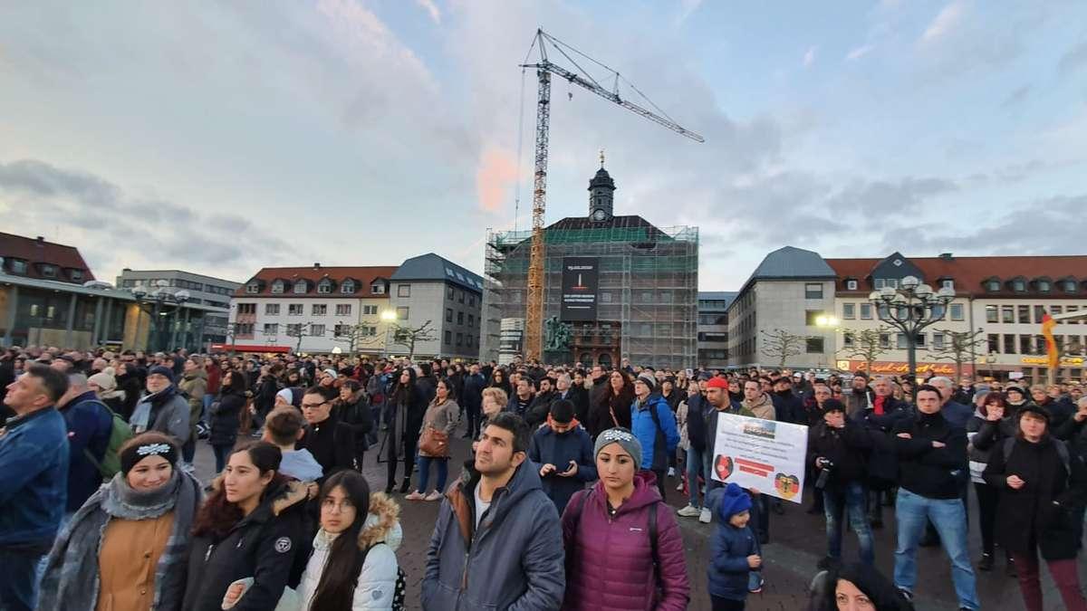 Hanau Trauerfeier
