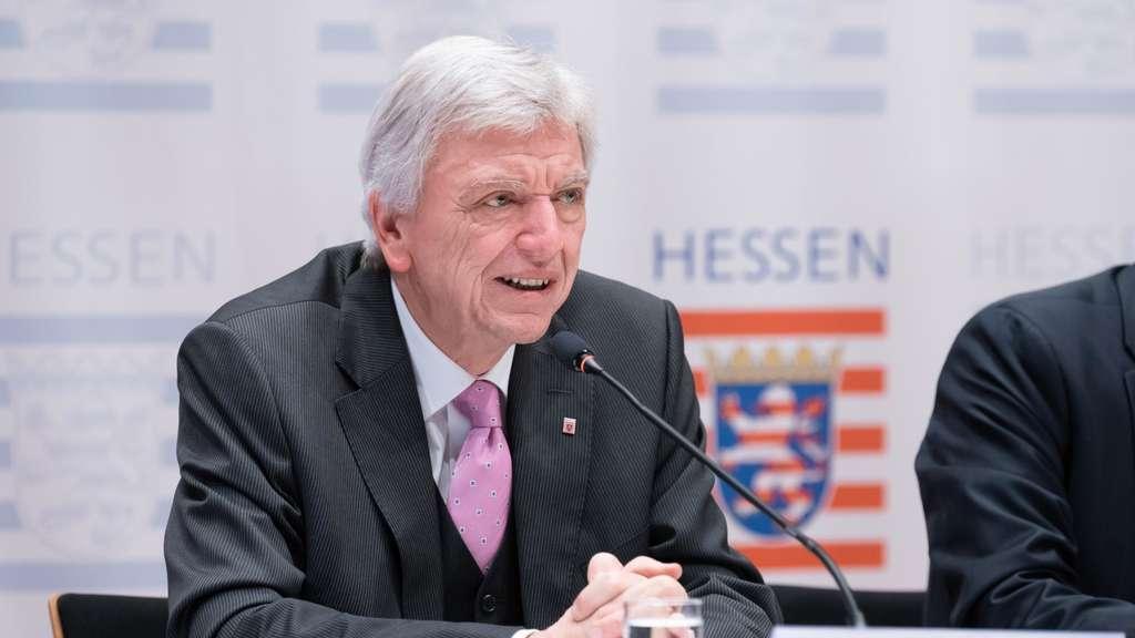 Pressekonferenz Bouffier