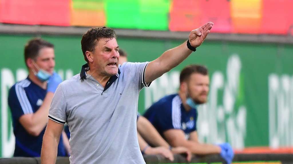 "Hamburger SV-Trainer Dieter Hecking ""sch***t"" auf alles"