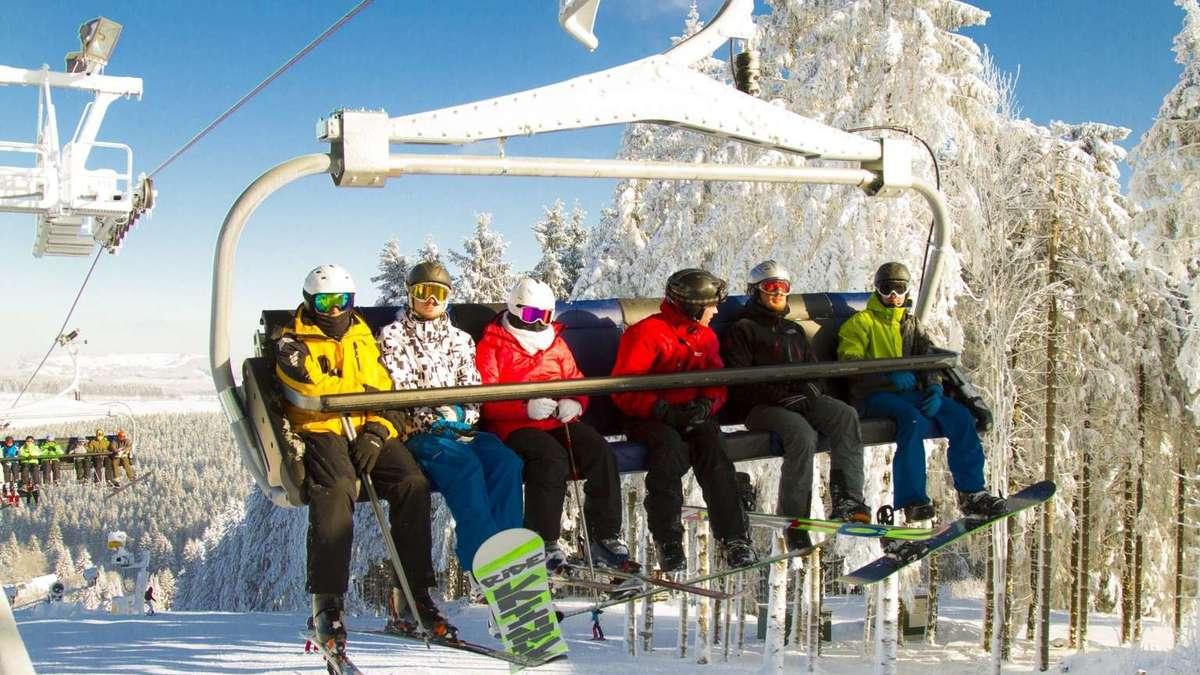 Skigebiete In Hessen